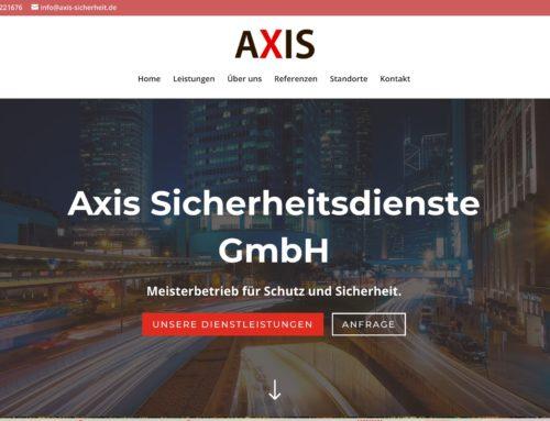 AXIS Sicherheit